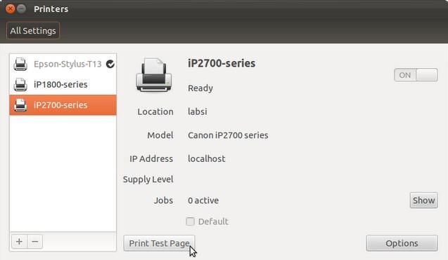 Driver Printer Canon iP 2770