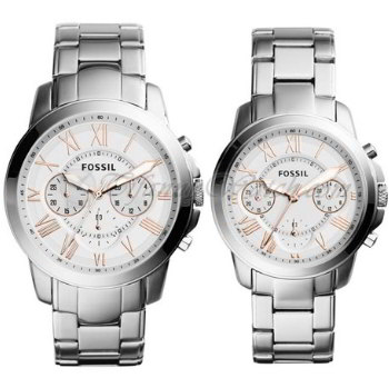 Jam Tangan Couple Fossil Original