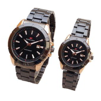 Jam Tangan Couple Swiss Army Original