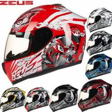 Jual Helm Zeus Full Face dan Half Face